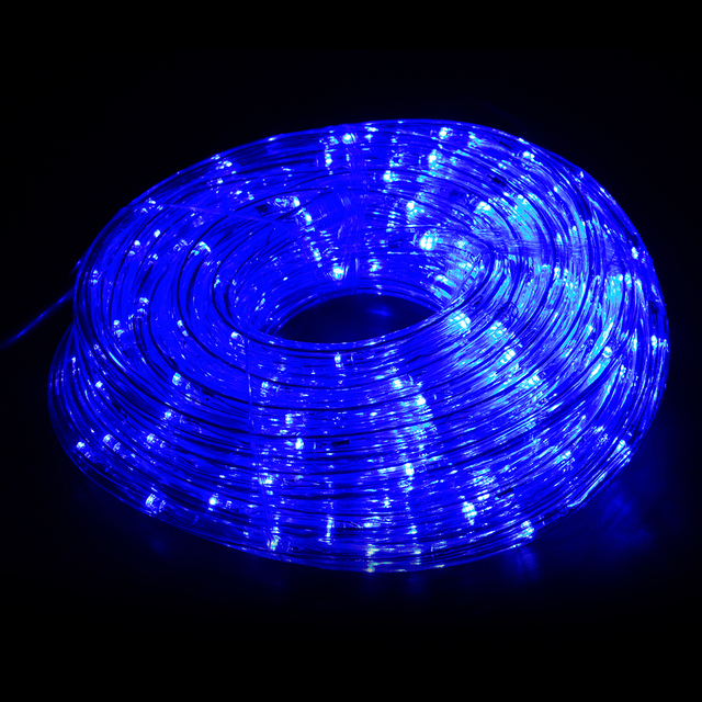 Ip65 outdoor blue red led rainbow tube rope light strip with 8 ip65 outdoor blue red led rainbow tube rope light strip with 8 function controller for landscape mozeypictures Images