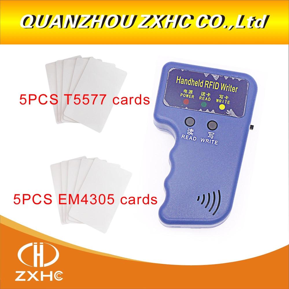 RFID 125KHz Handheld Reader Writer Copier Duplicator For ID Card + 5pcs T5577 Cards and + 5pcs em4305 cards handheld rfid reader writer 125khz rfid copier duplicator for id card 5pcs t5577 card and 5pcs em4305 card page 9