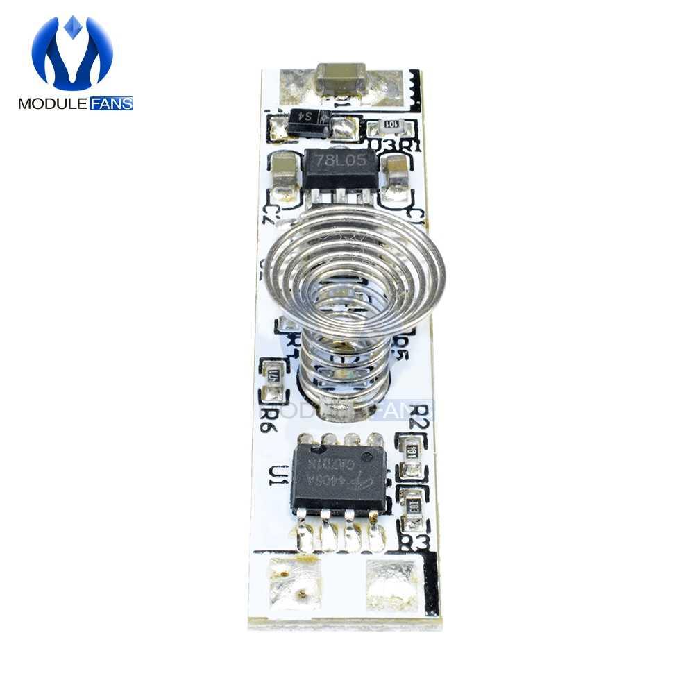 Сенсорный выключатель емкостный Сенсор модуль светодиодный затемнения Управление лампы для активного отдыха Компоненты три режима жесткий светильник Управление; 9 V-24 V 30W 3A