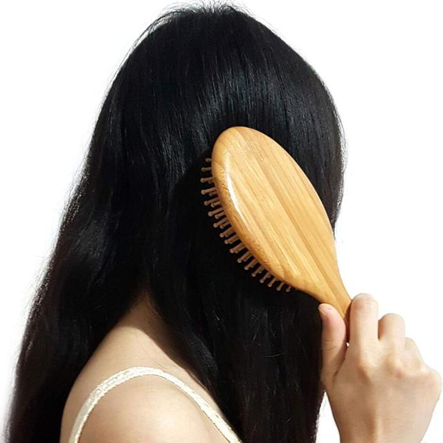 Wooden Bamboo Hair Comb