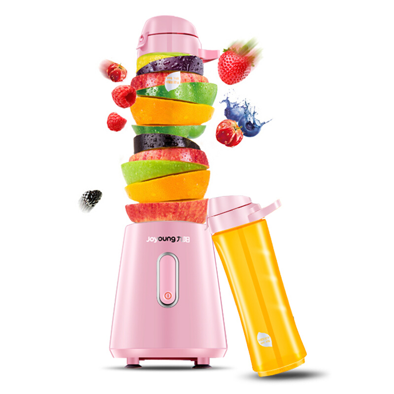 Juicer Household Fruit Small Automatic Fruit and Vegetable Multi-function Mini Student Fried Juicer Juice Bottle automatic spanish snacks automatic latin fruit machines