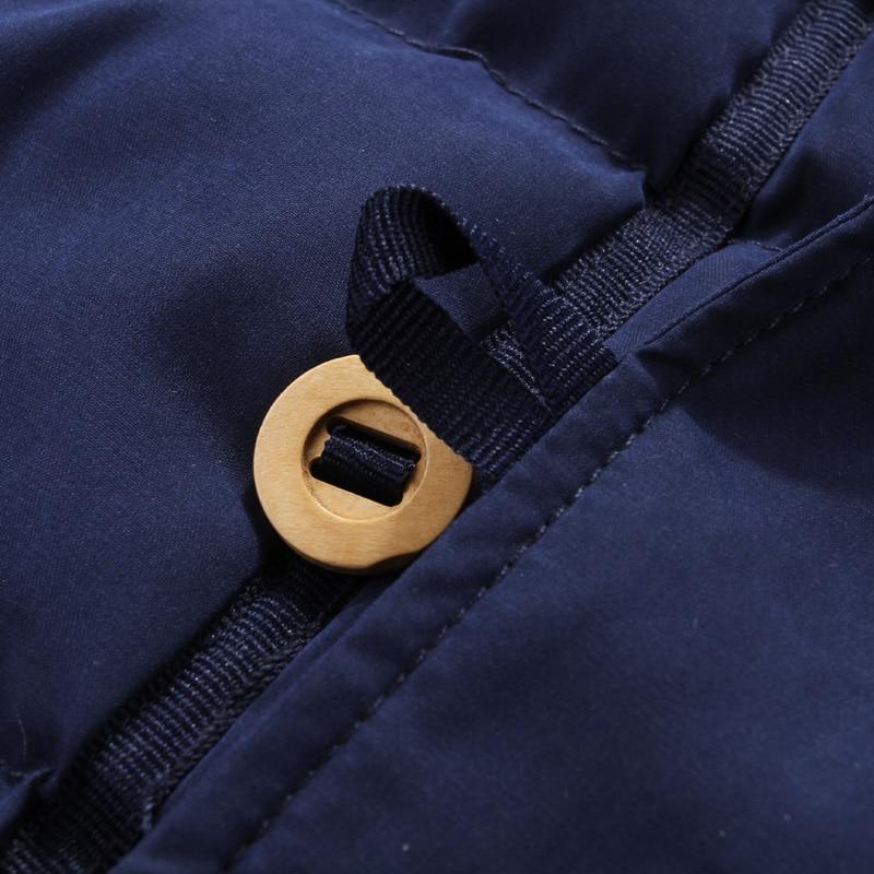 De Hommes khaki vent Bas Chaud Parkas 1911 Veste À Coton Vers Coupe Capuchon Mâle green Manteau Doux Qualité Vêtements Rembourré Blue Épais Marque Le Hiver Mode q4rt4z