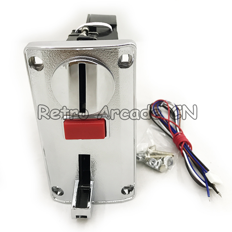 Electronic Multi Coin Acceptor For 6 different coins Vending Machine CPU Coin Selector For Washing Machine