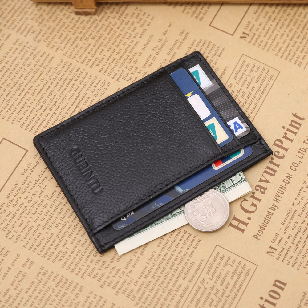 Fashion Men Leather Bifold Money Card Holder Wallet Coin Purse Clutch Pockets Free shipping japan anime katekyo hitman reborn wallet cosplay men women bifold coin purse