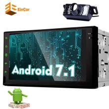 Android 7.1 car audio capacitive touch screen 2 din radio Bluetooth GPS multimedia support Bluetooth/WIFI/OBD2 camera navigation