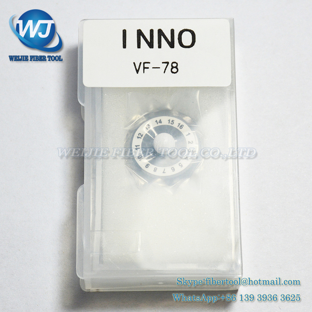 INNO VF-78 optical fiber cleaver blade VF-77/VF-15/15H 16 noodles Fiber optical cutter blade Made in China Free shipping