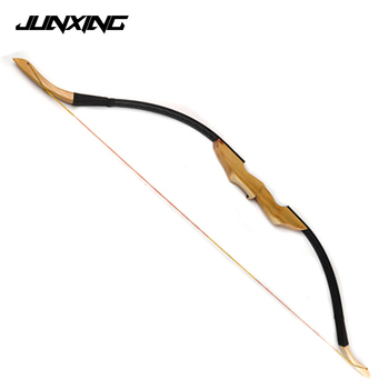Archery Traditional Mongolian Recurve Bow of 30lbs/40lbs for Right Left Hand with Wooden Raiser and Fur Rest for Hunting
