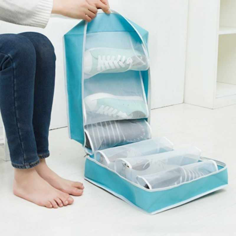 7991d4438ea1 Detail Feedback Questions about Home Portable Shoes Travel Storage ...