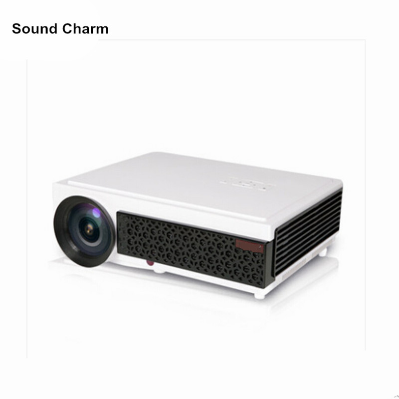 Hot sale full hd projector 5500lumens Video HDMI USB TV 1280x800 HD Home Theater