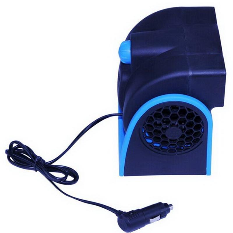Prix pour Faible Bruit De Voiture Climatiseur 12 V De Voiture Véhicule Camion Ventilateur De Refroidisseur D'air de Cage Réglable Silencieux Cooler Vitesse