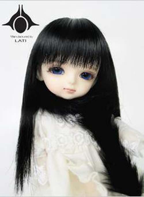 1/8 Bjd SD Doll Wig High Temperature Cute Straight BJD Super Hair Wig Free Shipping uncle 1 3 1 4 1 6 doll accessories for bjd sd bjd eyelashes for doll 1 pair tx 03