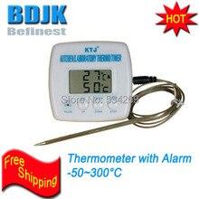 TA238 Digital Thermometer with 17cm SS Probe & Alarm Kitchen/ Laboratory Temperature Measuring