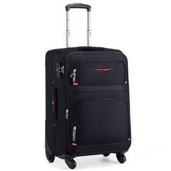 Hot! New Swiss Brand business rolling luggage set with handbag universal wheel cloth box men fashion suitcase trolley travel bag
