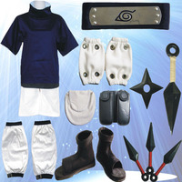 Full Suit Sasuke Cosplay Costume From Naruto Shippuuden Anime