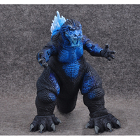 Cartoon 7 Gojira Blast blue dinosaur Atomic PVC action figure doll model toy cosplay cool toy Birthday holiday gift