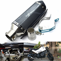 for Motorcycle parts Exhaust Universal 51mm Stainless Steel Motorbike Exhaust Pipe for Yamaha YZF R6 R1 FZ1 FAZER R6S USA 06 VER