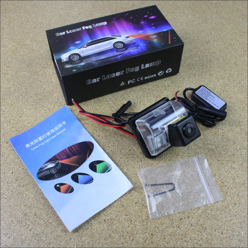 Laser Anti Collision Lamp Fog Light For Mazda speed 6 / Mazda Speed Atenza Outside Car Warning Alert Light To Shoot Chandeliers rainy anti collision laser light for