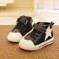 Sapatas das crianças Botas Sapatos Sapatos de Couro Genuíno da Qualidade Superior do Menino Botas de Inverno Botas Primavera Outono do Menino