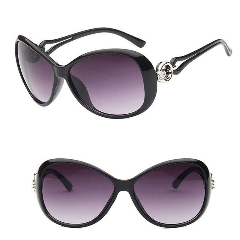 Women Sunglasses Luxury Decoration Classic Eyewear Female Sunglasses Polarized Round Sun Glasses Fashion UV400 Brand Designer