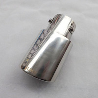 Free Shipping For Toyota COROLLA 2014 Stainless Steel Exhaust Pipe Tail Pipe Muffler Auto Accessories 1