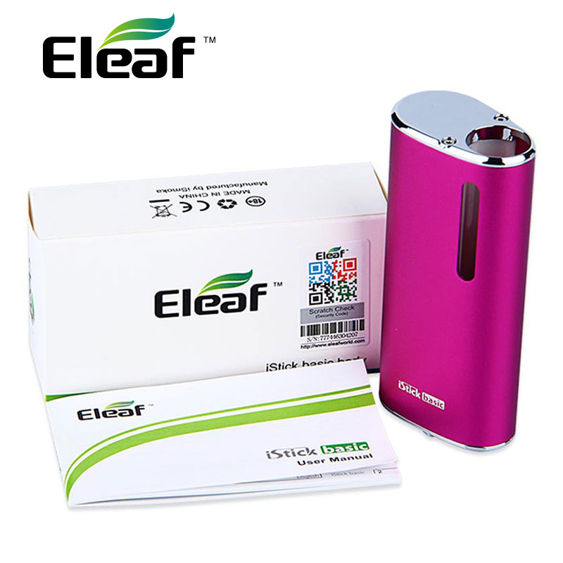 Eleaf iStick Basic Battery - 2300mAh / Max 30W / Compatible with eGo and 510 threaded atomizers of 14mm diameter.