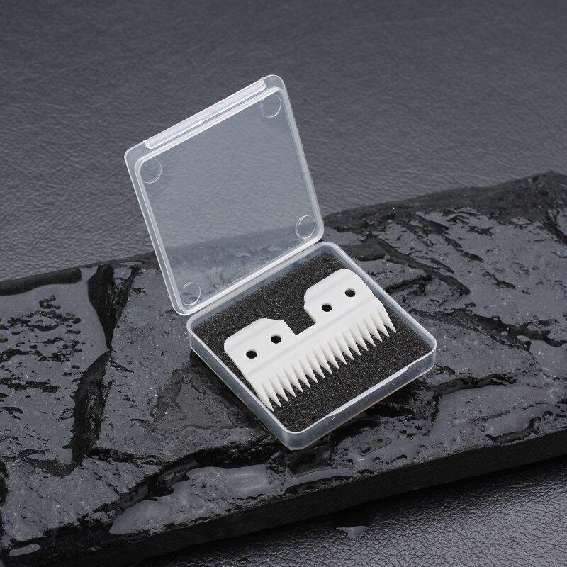 Keramik Pet Clipper klinge clipper Gute schärfe oster A5 klinge größe hohe qualität und langlebig 18 Zähne mit kunststoff box