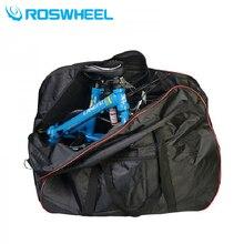 ROSHWEEL 2 in 1 Folding Bike Package Bag + Handlebar/Saddle Storage Bag Folding Bicycle Packing Bag Loading Package Panniers