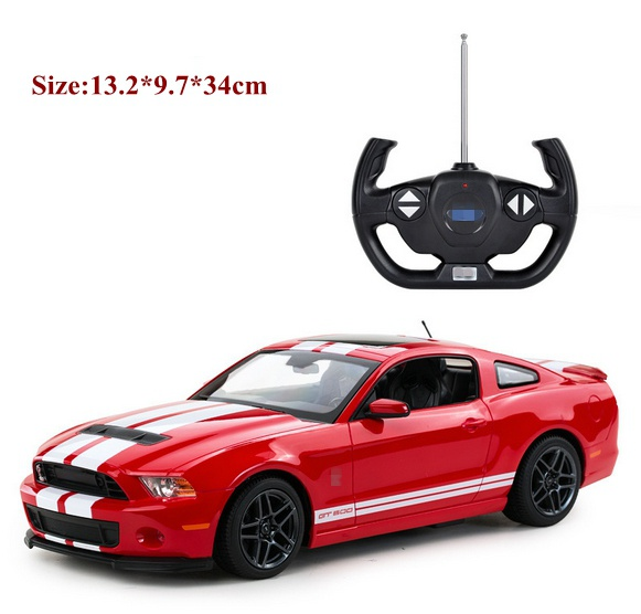 New 1/14 Mustang GT500 shelby rc car classic need for speed model drift toy for car fans electric hot model toy juguetes carnival is detonated the gt 500 shelby cobra muscle car jada 1 18 simulation models