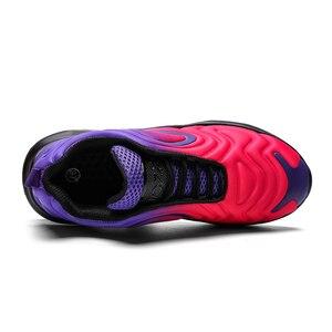 Image 2 - X Лидер продаж, фиолетовый Цветной Звезда воздушные подушки Для женщин спортивные кроссовки, кроссовки тренажерный зал обувь для него и для нее; удобные эластичные гонки женская обувь Повседневное