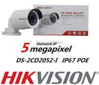 Hikvision English Version 5MP Bullet Camera DS 2CD2052 I 5Megapixel WDR Network Bullet IP Camera IP67