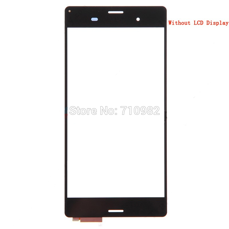10 pieces/lot HK Free shipping OEM Digitizer Touch Screen Part for Sony Xperia Z3 D6603 D6653 without lcd - Black/White color