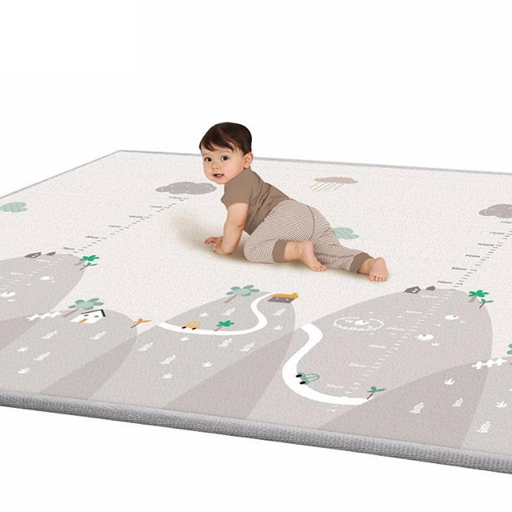200*180cm Tapete Infantil 1cm Thickness Baby  Play Mat Foam Puzzle Mats Kid Toddler Crawl Playmat Infant Living Room Blanket