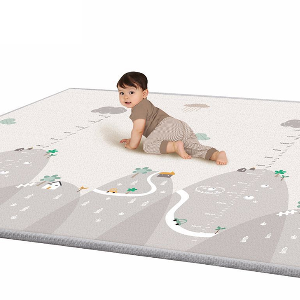 New 200*180cm Tapete Infantil 1cm Thickness Baby Carpet Play Mat Foam Puzzle Mats Kid Toddler Crawl Playmat Infant Blanket-in Play Mats from Toys & Hobbies