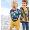 New 2017 Quality Brand 100% Cotton Baby Boys Clothing Sets 2pc Children Suit Kids Short Sleeve Clothes Set For Baby Boys Outwear
