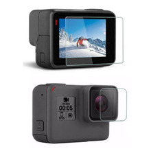 Tempered Glass Protector Cover Case For GoPro Go pro Hero5 H