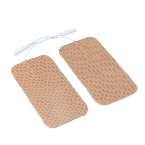 Image 3 - 10 Pairs TENS Electrodes Pads 5*10cm With Plug Hole 2.0mm For TENS/EMS Machines