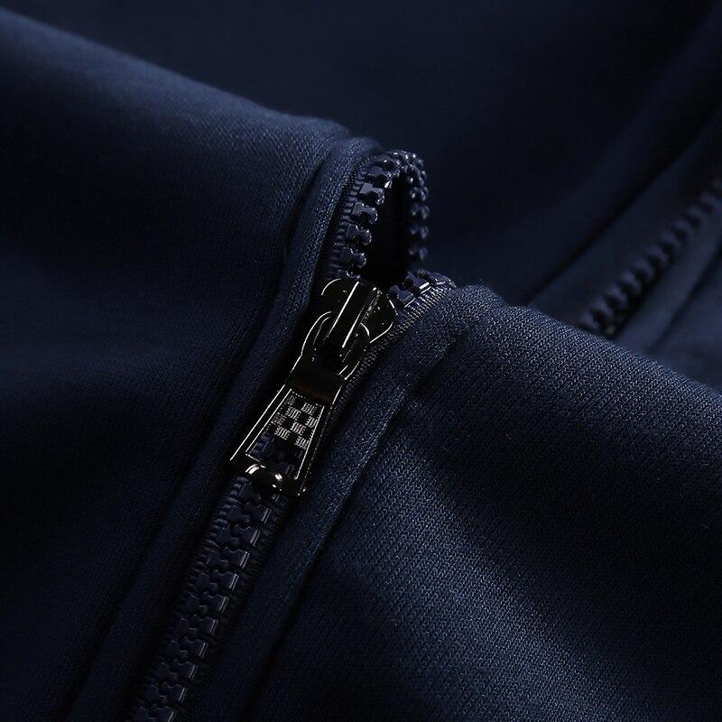 Модни мъжки спортни дрехи с качулки - Мъжко облекло - Снимка 4