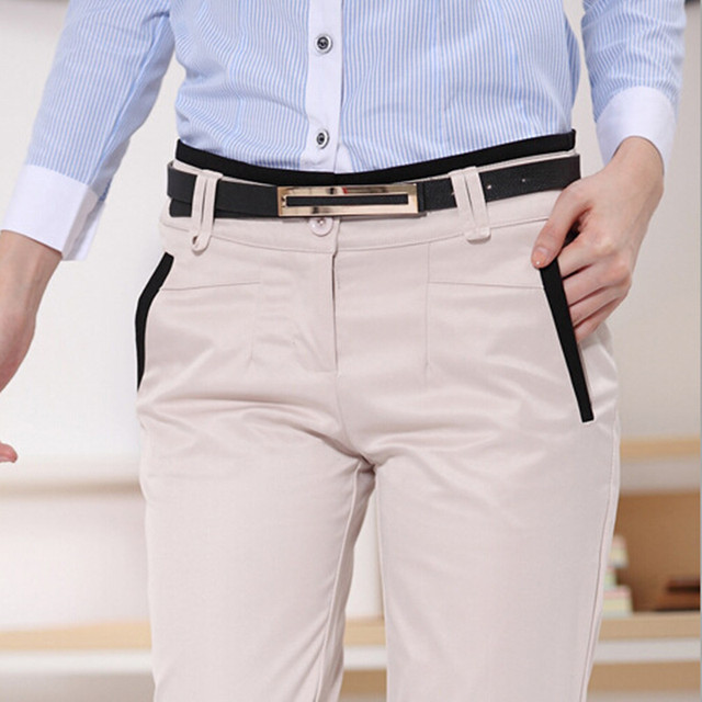 Aliexpress Buy Plus Size Trousers Women Pants Spring Summer