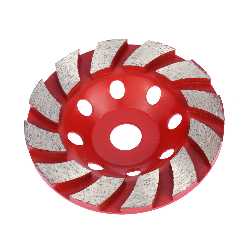 100mm 4 Diamond Grinding Wheel Disc Bowl Shape Grinder Cup Concrete Granite Masonry Stone Ceramics Terrazzo Marble z lion 4 diamond cup wheel grit 30 silent core turbo cup grinding aluminum base abrasive tool for concrete granite thread m14