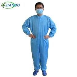 عالية الجودة ESD رذاذ الطلاء دعوى واقية الجسم الأمن والحماية غرفة نظيفة رذاذ بذلة الدعاوى الغبار الملابس