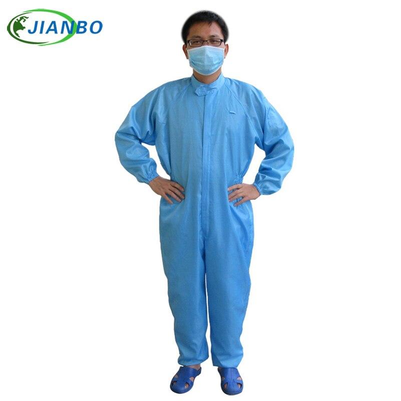 Висококвалитетни ЕСД спреј за фарбање Заштитна одела за тело и заштита Чиста соба Комбинезон одише прашином