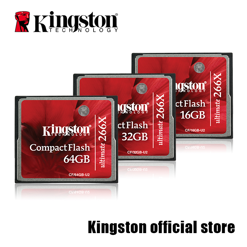 цены Kingston CompactFlash Ultimate 266x Card 16GB/32GB/64GB