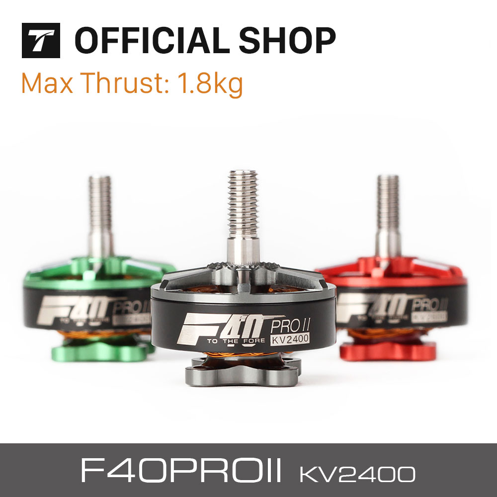 T-motor New Released FPV Drone Professional F40 PRO II 2400KV Brushless Electrical Motor For Rc Drone t motor brushless motor u10 plus kv80 drone brushless motor