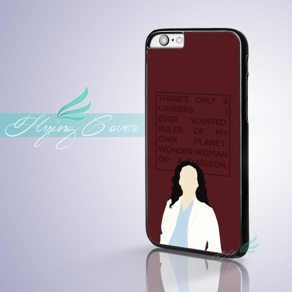Coque Greys Anatomy Cristina Yang Phone Cases for iPhone X 8 8Plus 7 ...