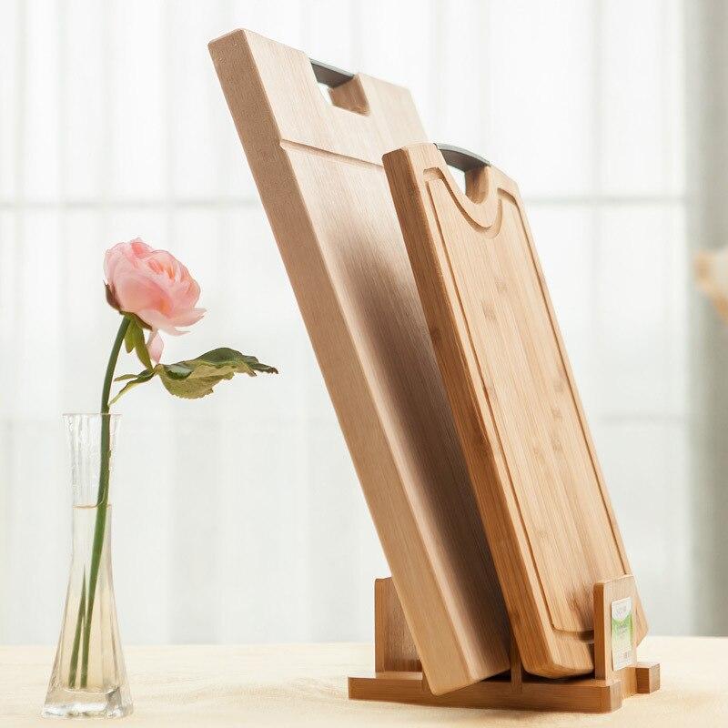 spear bamboo cutting board cutting board rack rack rack kitchen,