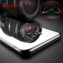 Luxury Clear TPU Soft Mobile Phone Case For Samsung Galaxy S7 Edge S8 Plus Cover Electroplating Cases For Samsung Note 8 case
