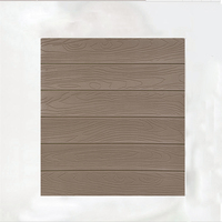 Sound Insulation 3D Solid Color Self Adhesive DIY Wall Stickers PVC Panels Dining Room Bedroom Wooden
