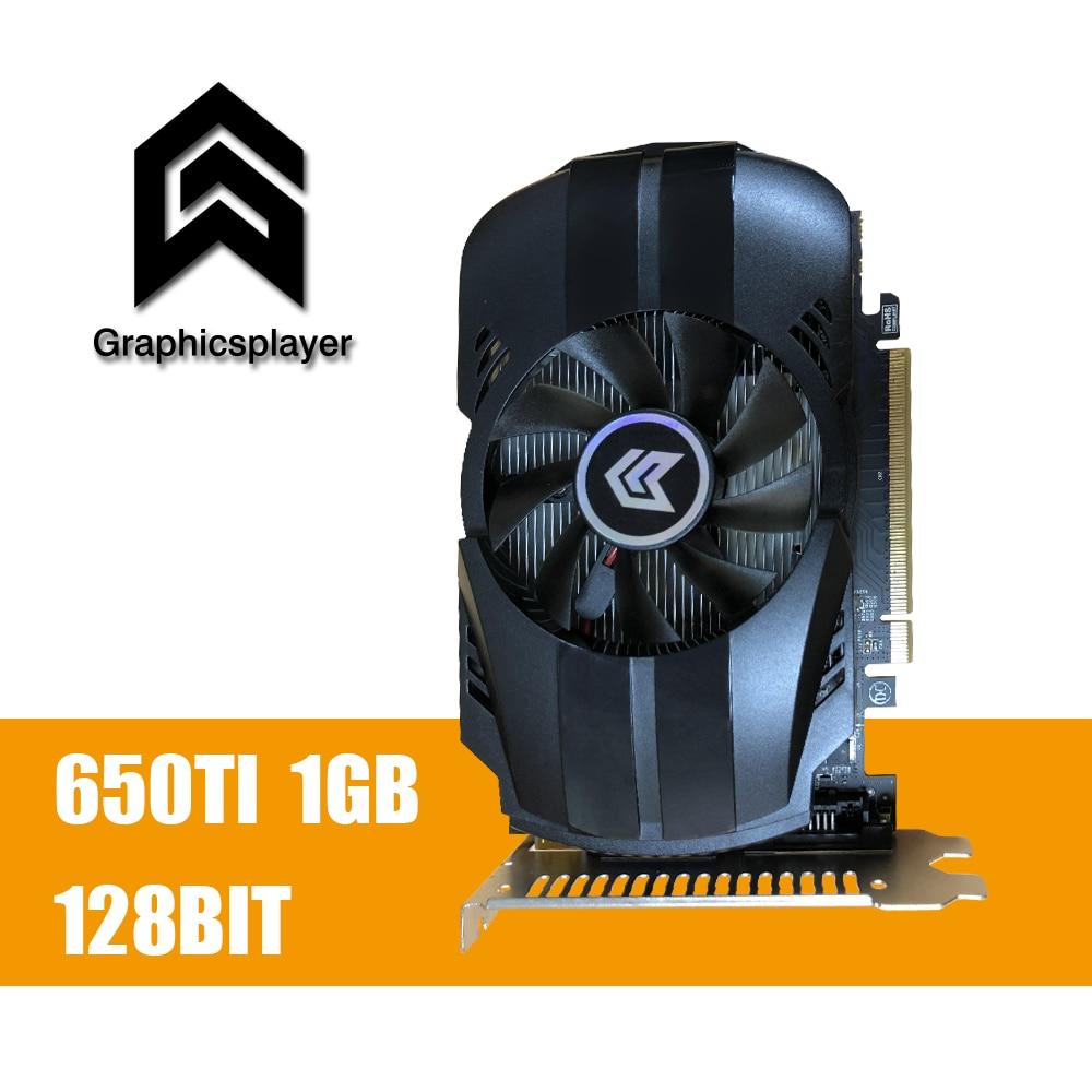 PC 게임용 그래픽 카드 GTX 650TI 1GB GDDR5 Tarjeta Grafica - 컴퓨터 구성 요소
