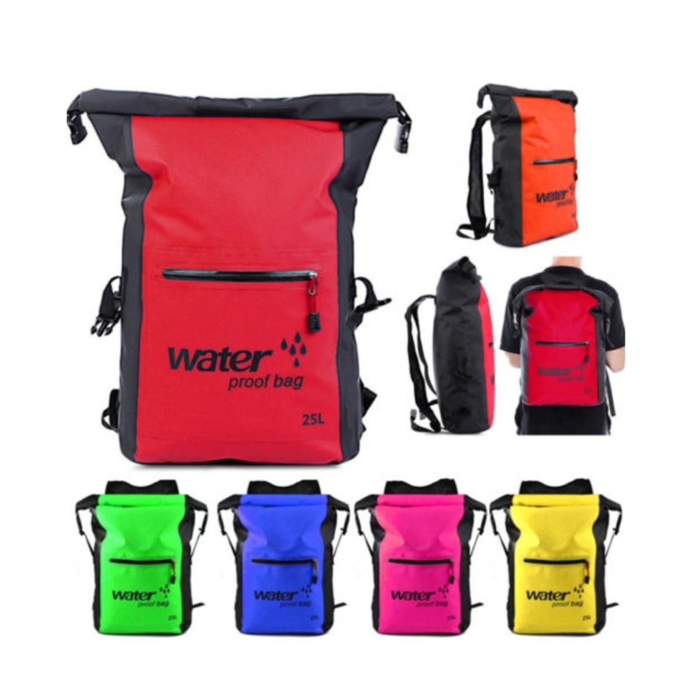 Camping & Hiking Fashionable Design 25l Men Women Waterproof Outdoor Travel Sports Swimming Backpack Ultra Lightweight Pvc Backpack Sports & Entertainment
