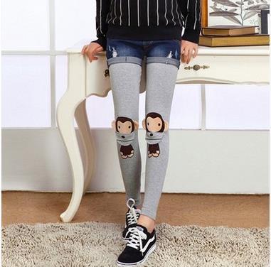 A primavera eo outono roupa de maternidade Coreano calças de maternidade as mulheres grávidas calças abdominais maternidade leggings SH-0191JYF